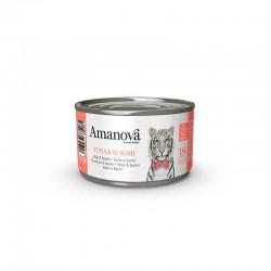 Amv WET Cat Tuna Surimi Broth 70Gr Nº18 24Ud