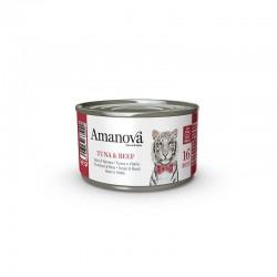Amv WET Cat Tuna Beef Broth 70Gr Nº16 24Ud