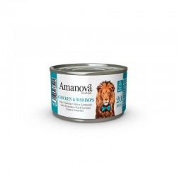 Amv WET Cat Chicken Gambas Broth 70Gr Nº20 24Ud