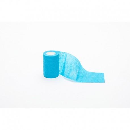 Venda Cohesiva 7,5Cm X 4,5M Azul Claro