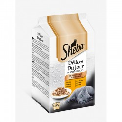 Sheba Delices Du Jour Aves 6x50Gr