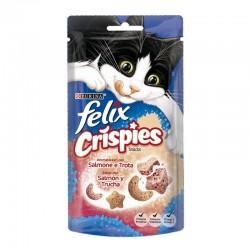 Felix Crispies Salmon Trucha 8X45Gr