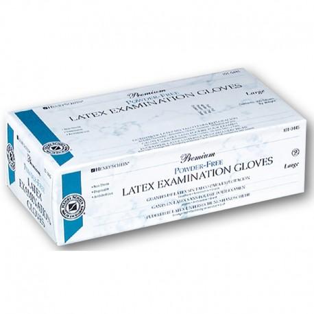 Guantes Latex Premium S/Polvo M 100Ud HS