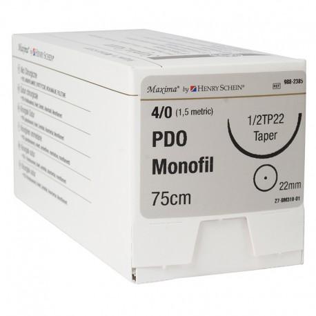 Maxima PDO Violet 3-0 75Cm A. Circular 26Mm 12Ud