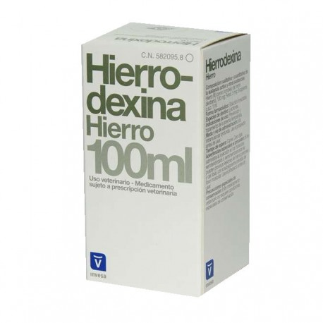 Hierrodexina Inyectable 100Ml