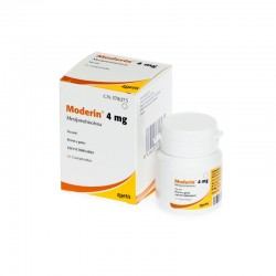 Moderin 4Mg 30 Comp