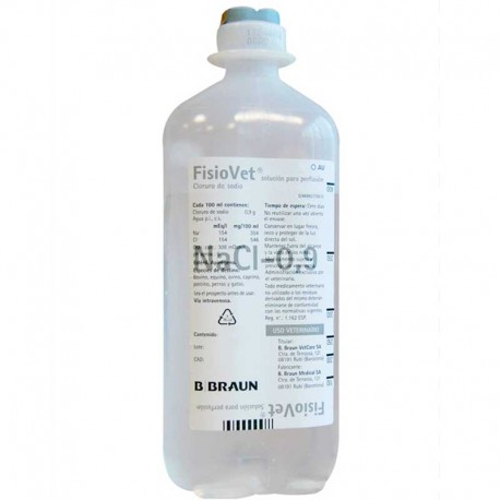 Fisiovet Perfusion 250Ml 20Uds