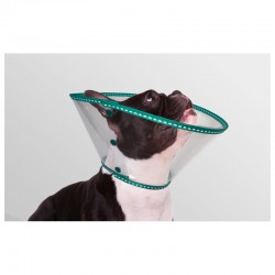 Collar EcoProtec Braquicéfalo 20Cm Verde 8Uds