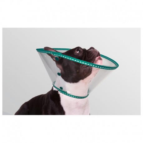 Collar EcoProtec Braquicéfalo 20Cm Verde 8Ud