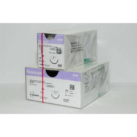 Novosyn Violet 3/0 Hr26 - 70Cm 12Uds