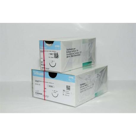 Silkam Black 1 Ds30 - 75 Cm 12Uds