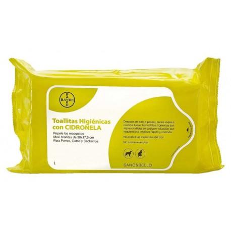 Toallitas Limpiadora Citronela 35Uds