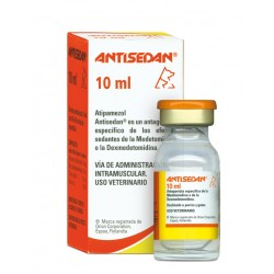 Antisedan 5Mg/Ml Inyectable Perros y Gatos 10Ml