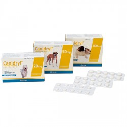 Canidryl Palatable 50Mg 140 Comp