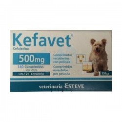 Kefavet 500Mg 140 Comp