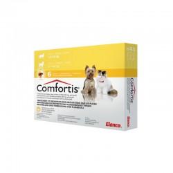 Comfortis 140Mg 6 Comp Amarillo 2,10Kg a 3Kg