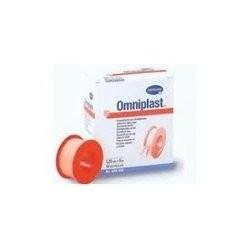 Esparadrapo Omniplast Rosa 5Cm X 5M 1Ud