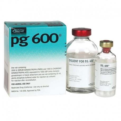P.G. 600 1 X 5 Dosis 25Ml