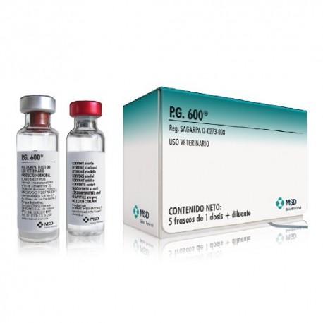P.G. 600 5 X 1 Dosis 5 X 5Ml