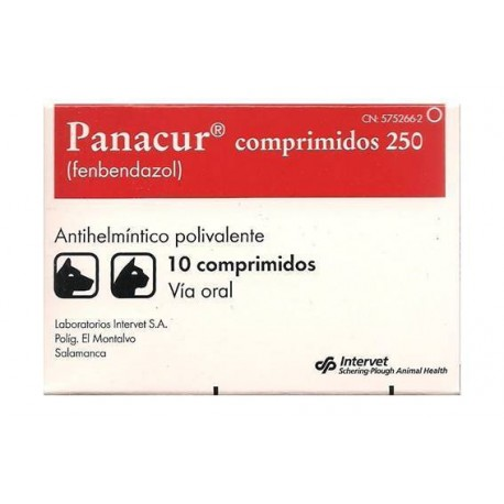 Panacur 250Mg 10 Comp