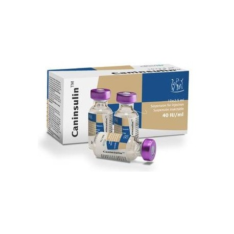 Caninsulin Viales 10 X 2,5Ml 40 U.I