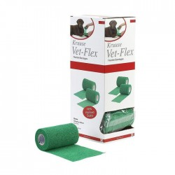 Venda Kruuse Vet-Flex 10Cm X 4,5M Verde
