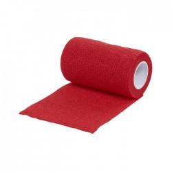 Venda Kruuse Vet-Flex 7,5Cm X 4,5M Rojo