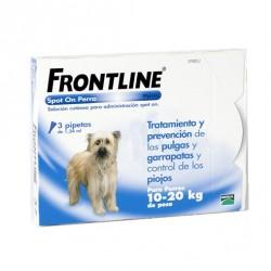 Frontline 3 Pip 10-20 Kg Azul