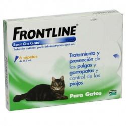 Frontline 6 Pip Gatos Verde