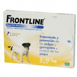Frontline 6 Pip 1-10 Kg Amarillo