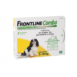 Frontline Combo 3 Pip 1-10 Kg Amarillo