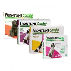 Frontline Combo 3 Pip 40-60 Kg Rojo