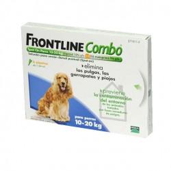 Frontline Combo 6 Pip 10-20 Kg Azul