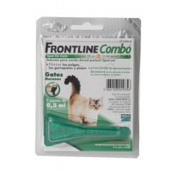 Frontline Monopipetas Gatos Verde