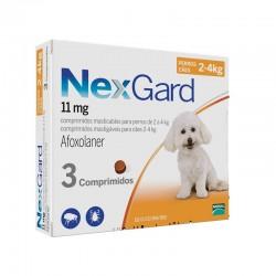 Nexgard 11Mg 3Comp 2-4Kg S Naranja