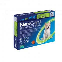 Nexgard Spectra 38Mg 3Comp 7,5-15Kg M Verde