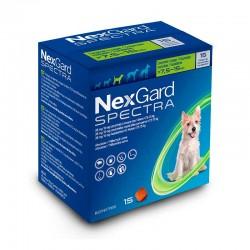 Nexgard Spectra 38Mg 15Comp 7,5-15Kg M Verde