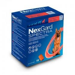 Nexgard Spectra 150Mg 15Comp 30-60Kg Xl Rojo