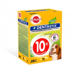 Pedigree Dentastix Multipack Fresh Mediano 4Ud PVP