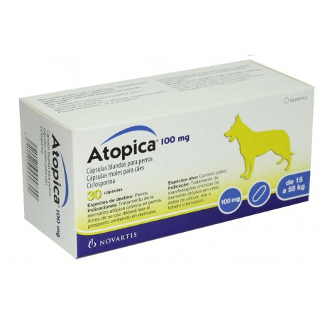 Atopica 100Mg 30 Caps