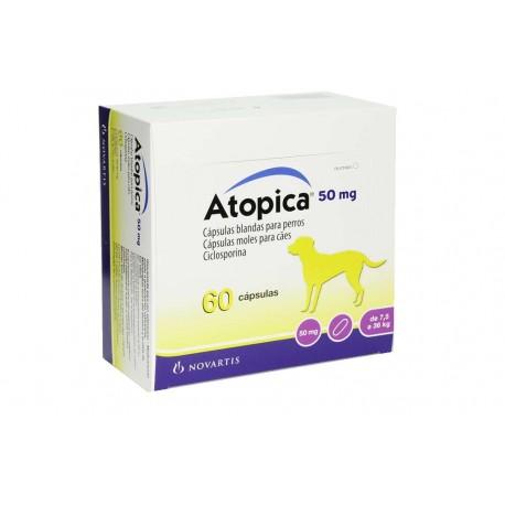Atopica 50Mg Caja De 60 Caps