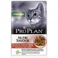 Pro Plan Sterilised Cat GiG Buey 24X85Gr