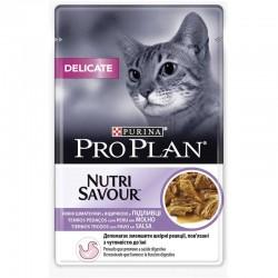Pro Plan Delicate Cat GiG Pavo 24X85Gr