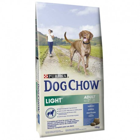 Dog Chow Light Pavo 14Kg