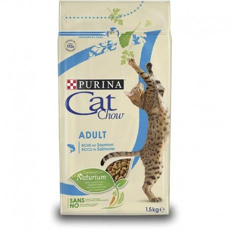 Cat Chow Adult Salmon Atun 6X1,5Kg