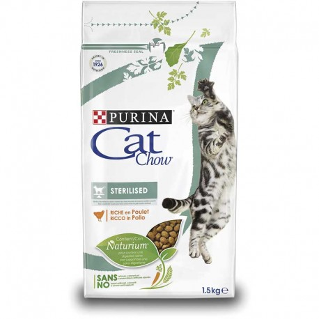 Cat Chow Special Care Sterilized Pollo 15Kg