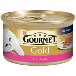 Gourmet Gold Mousse Buey 24x85g