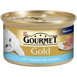 Gourmet Gold Mousse Pes Oceano 24X85Gr