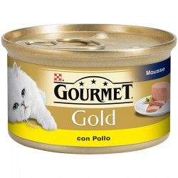 Gourmet Gold Mousse Pollo 24X85Gr