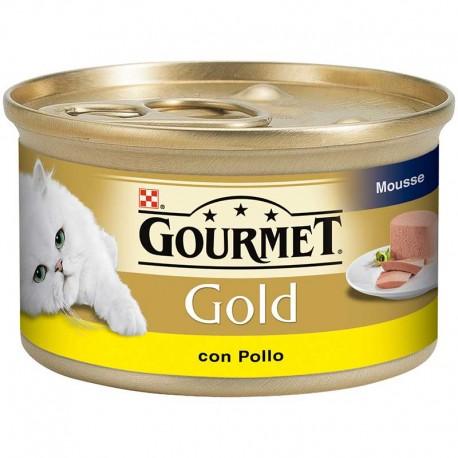 Gourmet Gold Mousse Pollo 24X85Gr